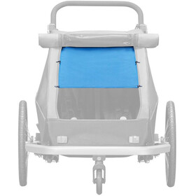 Croozer Aurinkosuoja Kid Plus / Kid for 2 :een , sininen
